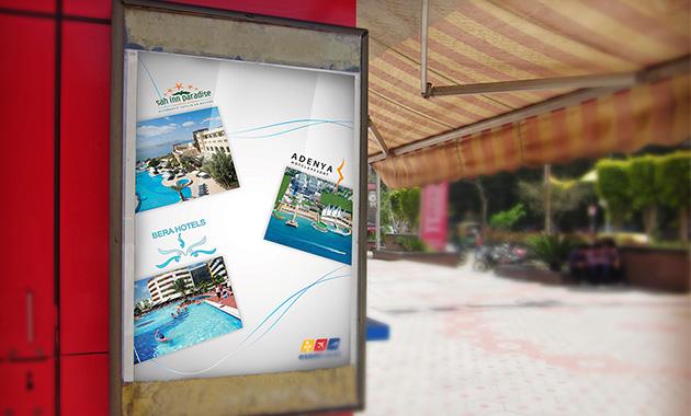 Oteller Tatil Poster Tasarımı